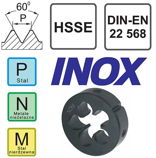 narzynka kobaltowa Inox