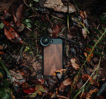 drewniane etui na telefon